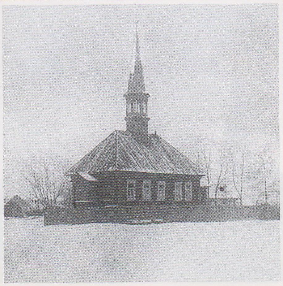 Кызыл мечеть (20-е годы). Главная мечеть обозначена на старых картах начиная с 18-го века.
