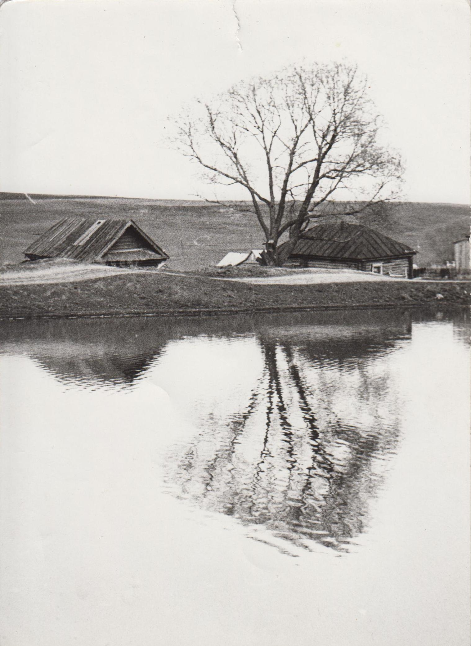 Центральный пруд, около магазина (70-е годы)