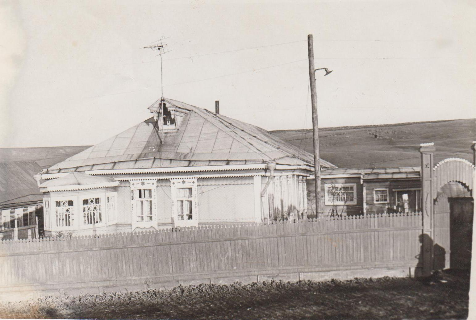 Дом Садек Абзи (70-е годы)