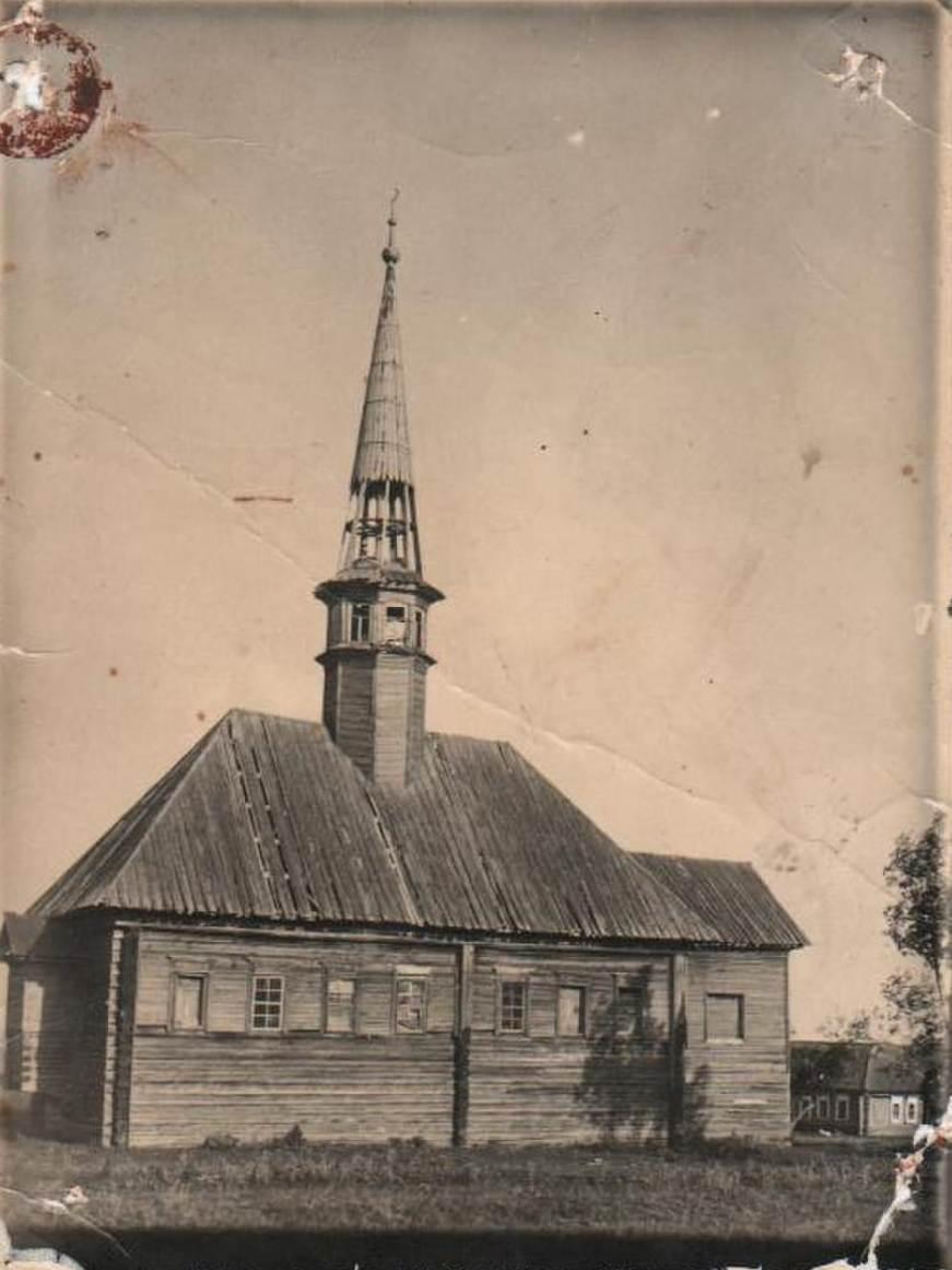 Здание Ак мечети 1959 г. Сильный ветер разрушил минарет